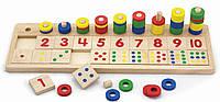 Обучающая игрушка Viga Toys Учимся считать (59072VG)