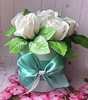 Цветочный букет из мыла  № 7