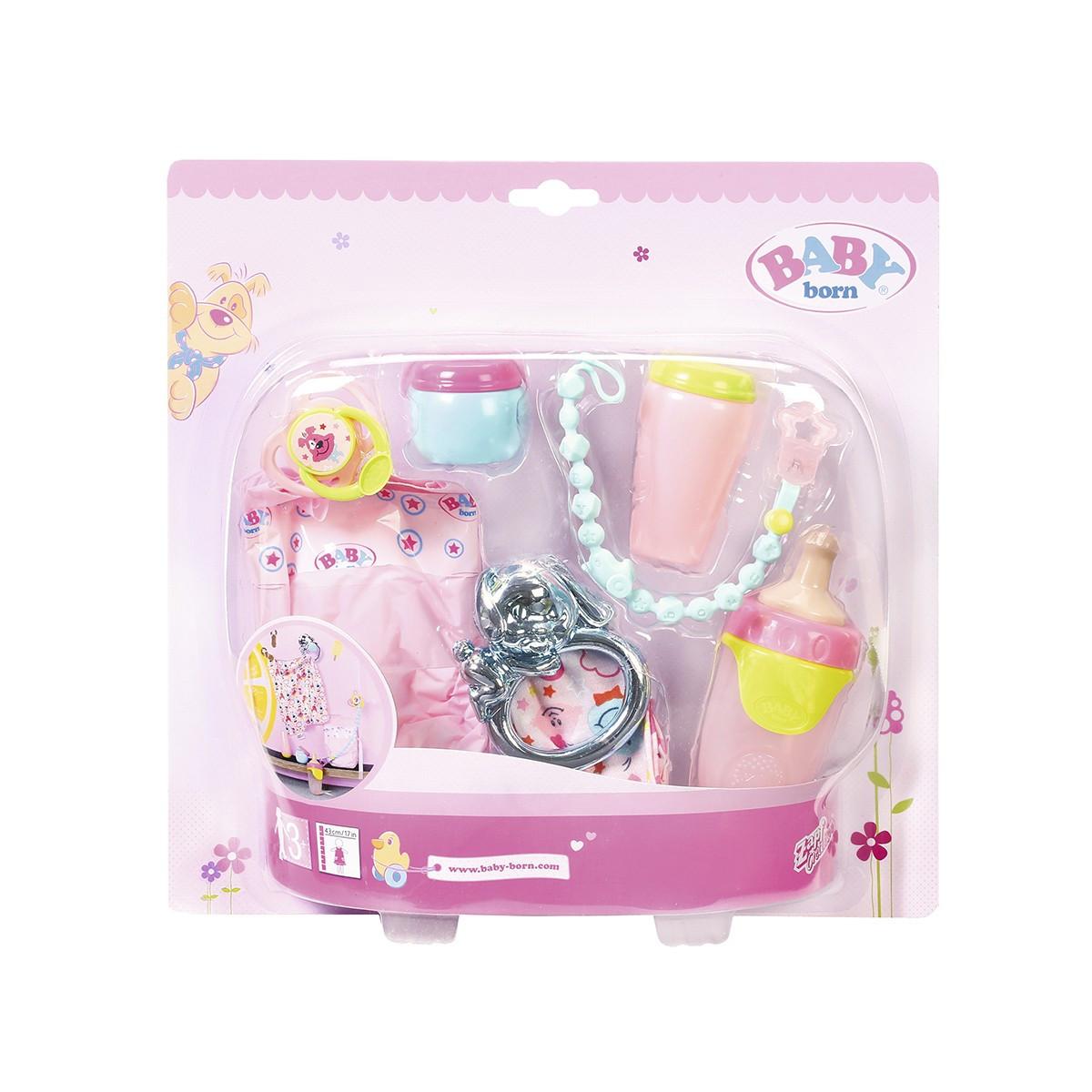 Набір аксесуарів для ляльки BABY BORN - піклуватися про малюка