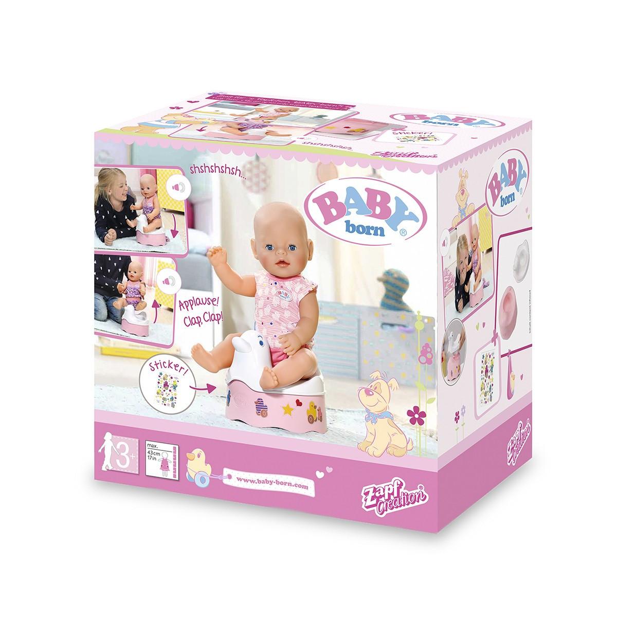 Інтерактивний горщик для ляльки BABY BORN - качечки