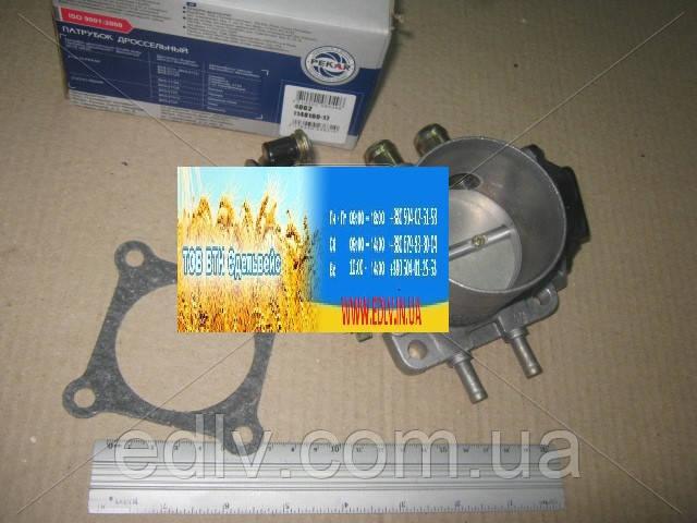 Дроссель ГАЗЕЛЬ двигатель.4216 (датчик Арзамас) (пр-во ПЕКАР) 4062.1148100-17