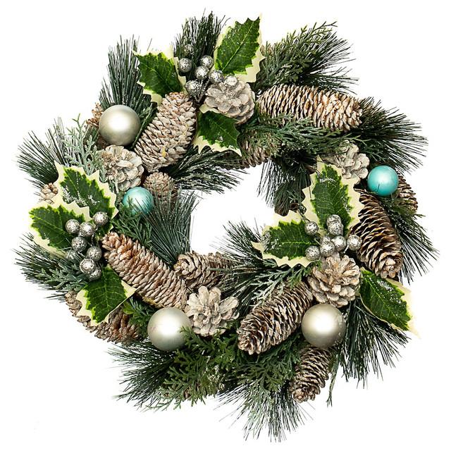 Новогодний декор (венки, ветки, подсвечники, декоративные композиции)
