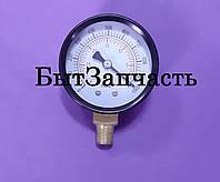 Манометр 310500104 мановакууомметр диаметр 50 мм . Черн . Подсоединение снизу.