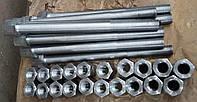 Изготовление нестандартных крепежных изделий (болты, гайки, шпильки и т.п.) по чертежам заказчика