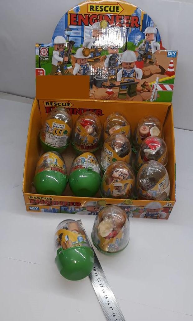 Игровая фигурка в яйце