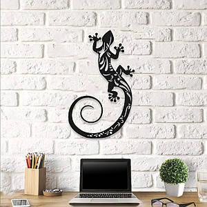 Картина из дерева Decart Gecko 40x66 см