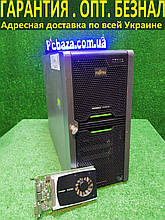 Граф. станция CAD 3D \ Сервер Fujitsu, 4(8) ядра intel X3470 3.6 Ггц, 12 ГБ ОЗУ, 250 SSD+1000 GB , Quadro 2000