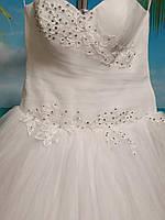 Белое свадебное платье 44-46-48 размер