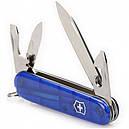 Нож складной, мультитул Victorinox Spartan (91мм, 12 функций), синий прозр. 1.3603.Т2, фото 4