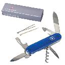 Нож складной, мультитул Victorinox Spartan (91мм, 12 функций), синий прозр. 1.3603.Т2, фото 5