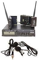Радиосистема DV audio BGX-24 Dual с петличными микрофонами, фото 1