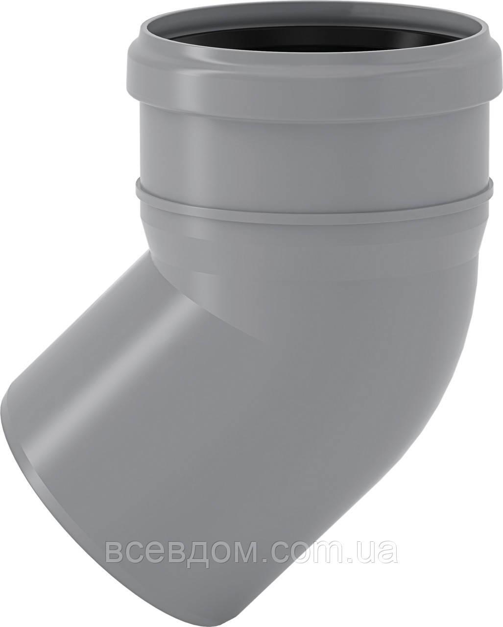 HTB Колено Valsir внутренней канализации 50х45°