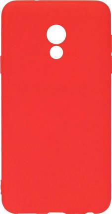 Силикон Meizu 15 Lite red SMTT, фото 2