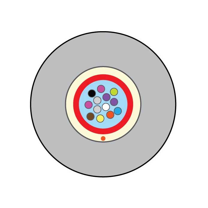 Оптический кабель FIBRAIN EXO-GI(1,8)-2