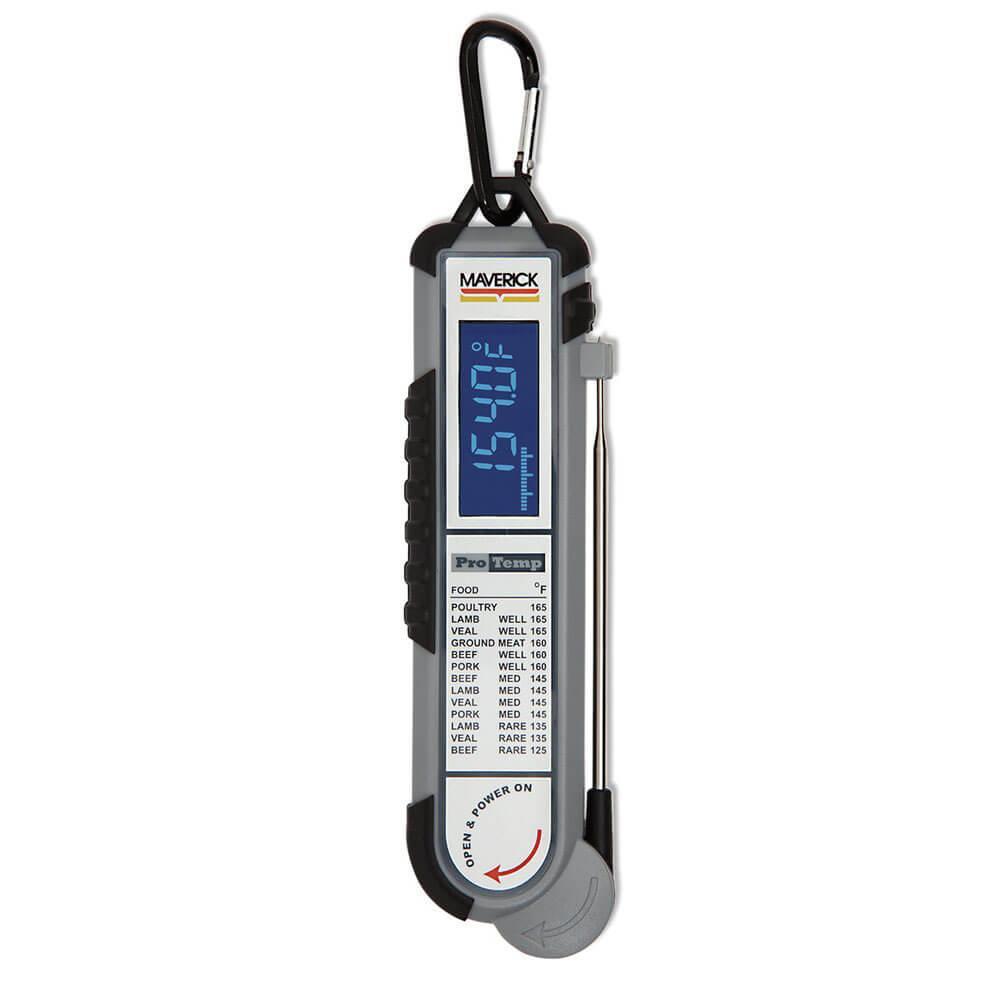 Термометр из высококачественного атмосферостойкого и ударопрочного материала Maverick PT-100BBQ