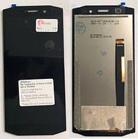 Blackview BV5800 дисплей в зборі з тачскріном модуль чорний