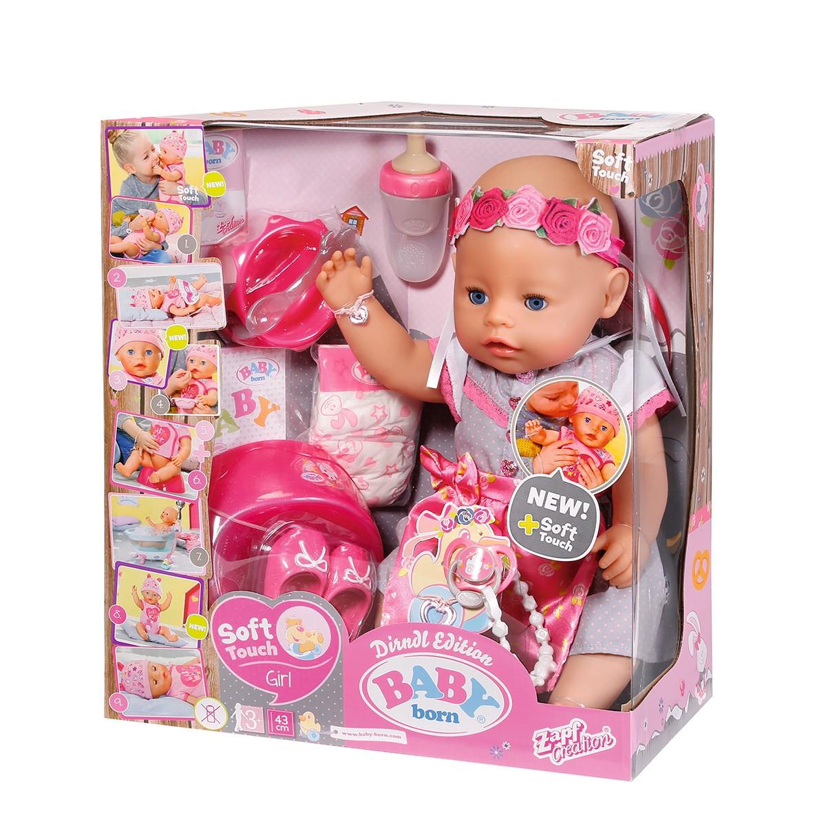 Лялька BABY BORN серії «Ніжні обійми» - Нарядне малятко