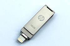 Флешка переходник hp для iPhone и iPad FlashDrive / Флеш накопитель на 16 Гб