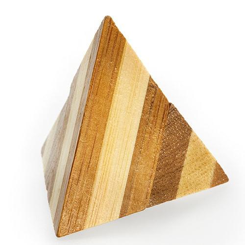 Пирамида | Pyramid Puzzle 3D Bamboo