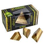 Пирамида | Pyramid Puzzle 3D Bamboo, фото 2