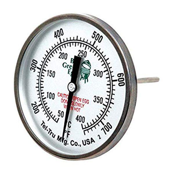 Термометр з нержавіючої сталі для гриля Big Green Egg з XXLarge,XLarge, Large, Medium, Small і MiniMax 117250