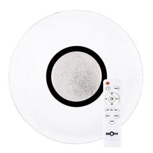 Світильник світлодіодний Biom SMART SML-R07-50 3000-6000K 50Вт з д/к