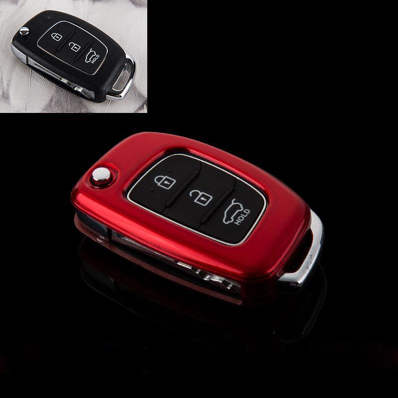 Пластиковый чехол для ключа Hyundai i10,i20,i40,Accent,Elantra,Sonata, Tucson,Santa Fe,VERNA,Genesis,Getz,IX35