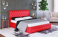 Кровать с мягким изголовьем Стефани 160 (ТМ Городок мебель) 1750х1120х2170мм