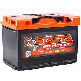 Автомобильный аккумулятор Starta Strong 6СТ-78
