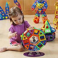 Магнитный конструктор MAG-WISDOM 3D (KB04039) 71 деталь. Суперподарок для ребенка!