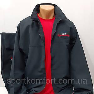 Спортивный костюм из мягкой плащёвой ткани PAUL&SHARK / копия/, Турция, тёмно-синий, большие размеры.