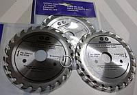 Отрезной диск по дереву 125 мм с крупным зубом на УШМ 24 зуба