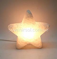 Соляной светильник Звезда