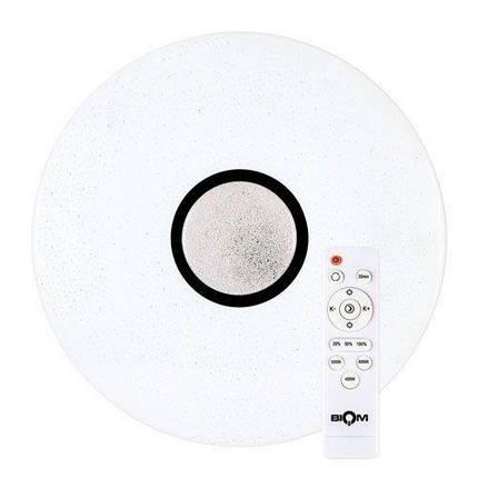 Світильник світлодіодний Biom SMART SML-R07-80 3000-6000K 80Вт з д/к, фото 2