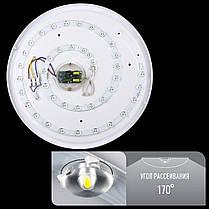Світильник світлодіодний Biom SMART SML-R08-50 3000-6000K 50Вт з д/к, фото 2