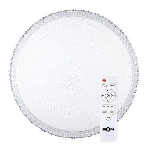 Світильник світлодіодний Biom SMART SML-R08-50 3000-6000K 50Вт з д/к