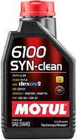 Моторное масло MOTUL 6100 SYN-CLEAN 5W-40 1л