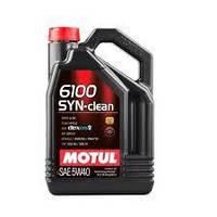 Моторное масло MOTUL 6100 SYN-CLEAN 5W-40 4л