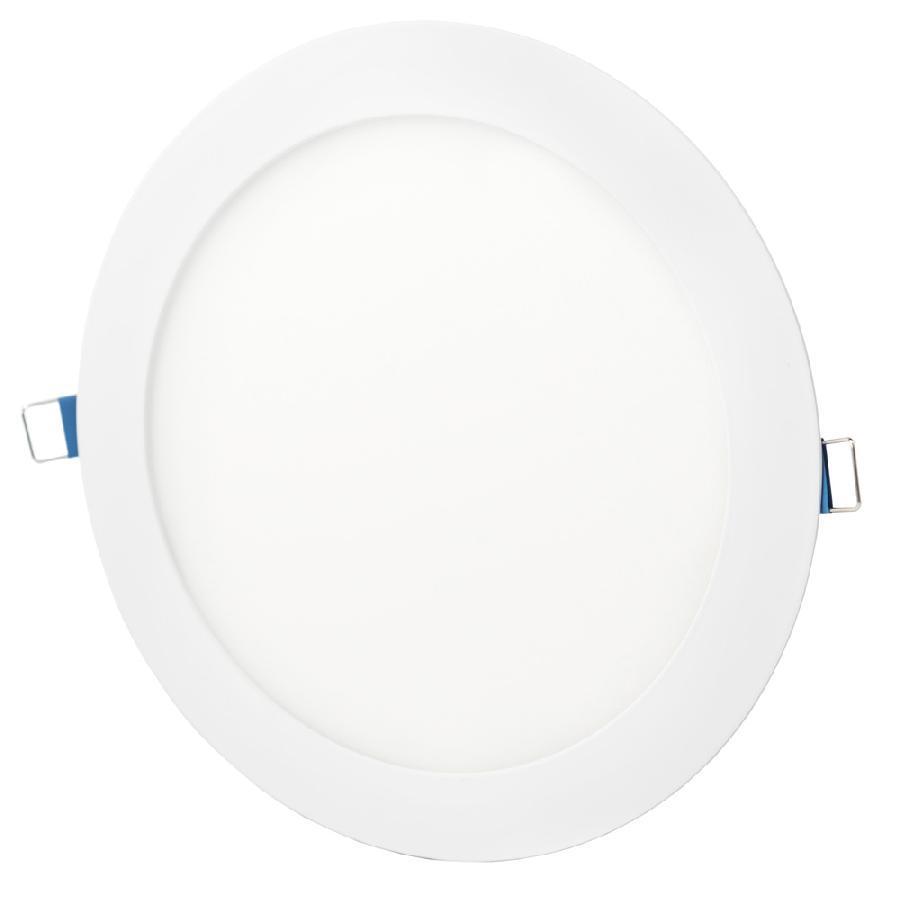 Светильник точечный врезной ЕВРОСВЕТ 24Вт круг LED-R-300-24 4200К