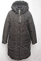 Дуже тепле жіноче зимове пальто, куртка з капюшоном 44-50р, фото 1