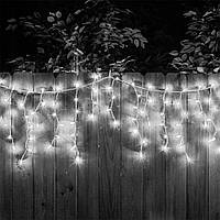 Гирлянда светодиодная внутренняя Бахрома белая Cool White  G095, фото 1