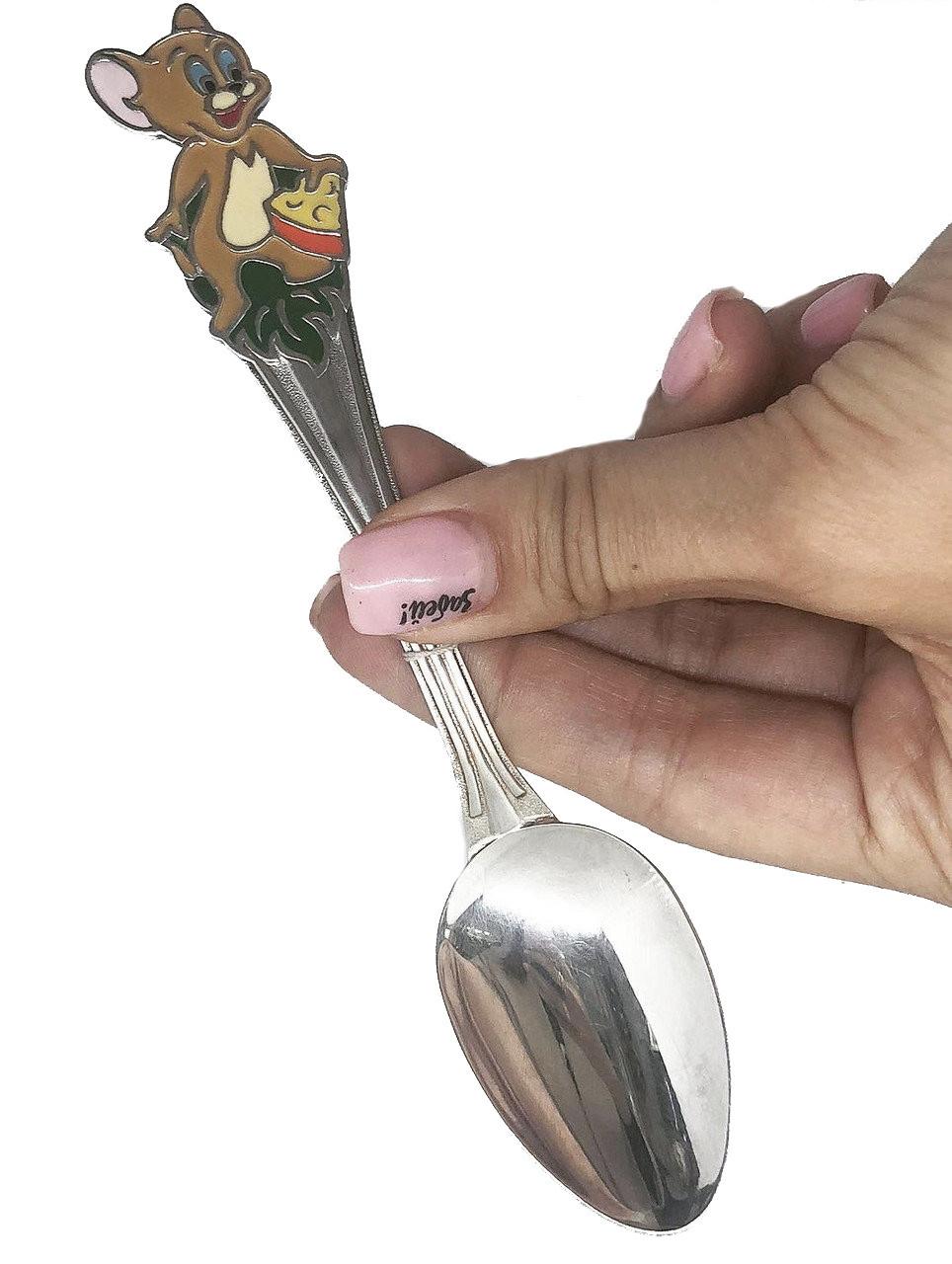 Серебряная ложка чайная Брюс с Джерри