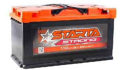 Автомобильный аккумулятор Starta Strong 6СТ-110