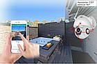 Wifi камера IP PTZ наружная поворотная уличная 1080P H.265 2M, фото 6