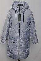 Дуже тепле жіноче зимове пальто, куртка з капюшоном 44-50р