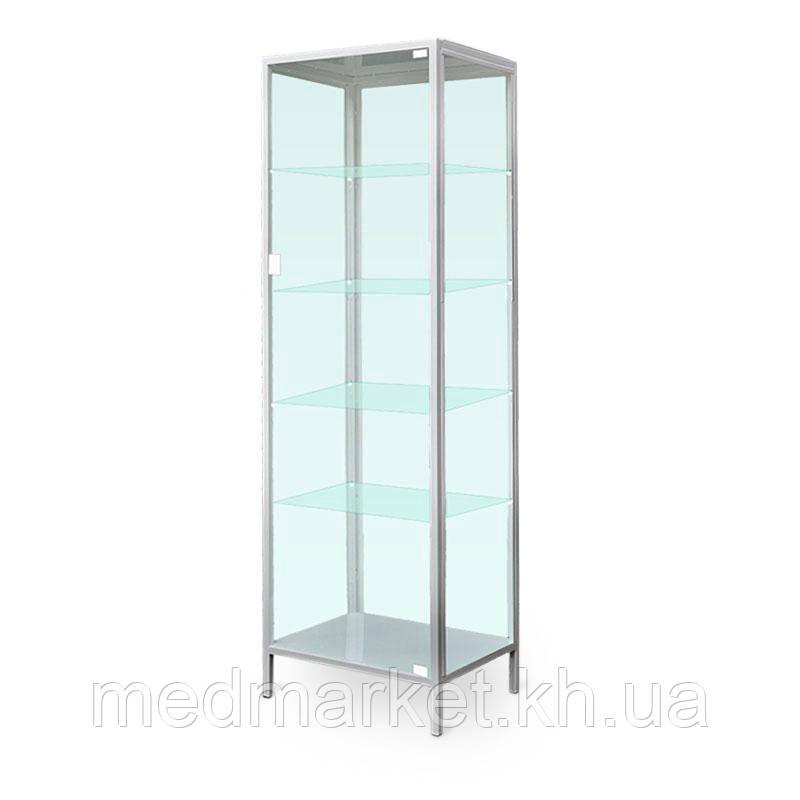 Шкаф ШМ-1Ст медицинский одностворчатый стекляный