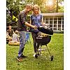 Угольный гриль с решеткой 47 см для барбекю блюд с поддоном для золы Weber 1241004, фото 2