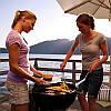 Угольный гриль с решеткой 47 см для барбекю блюд с поддоном для золы Weber 1241004, фото 9