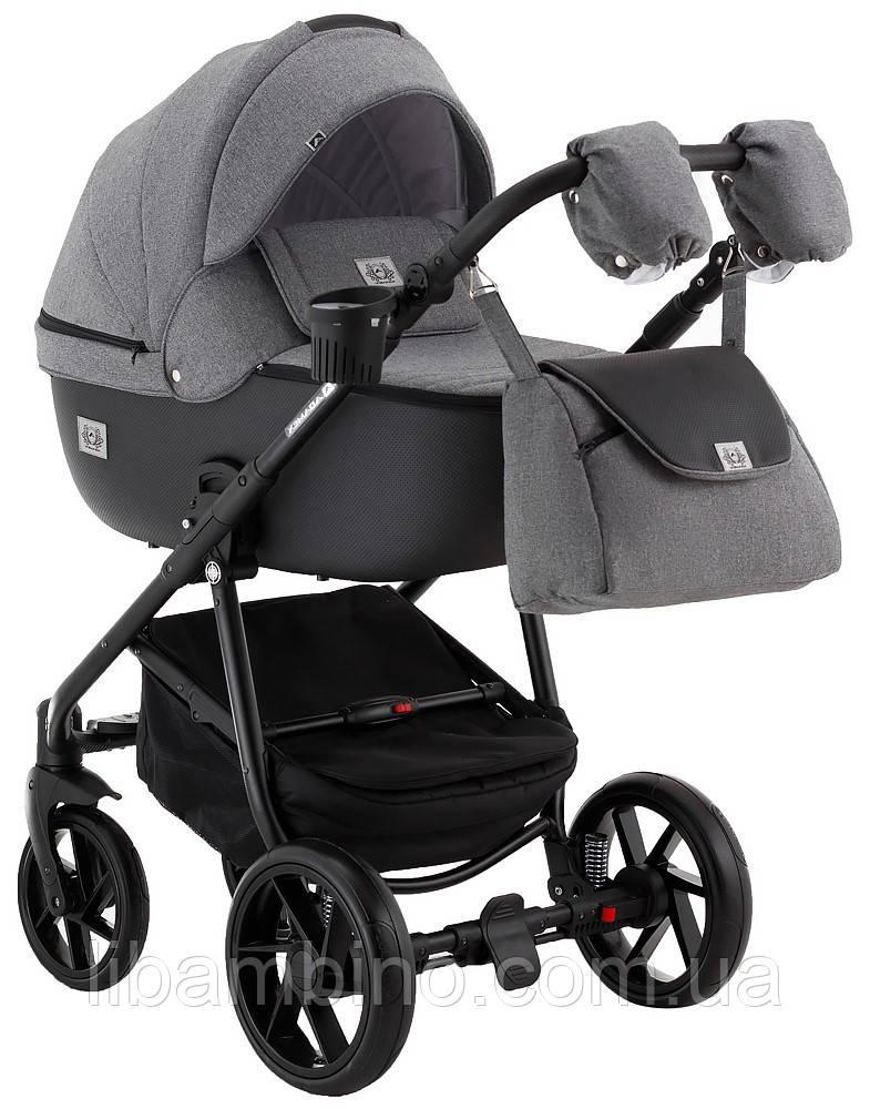 Дитяча універсальна коляска 2 в 1 Adamex Hybryd Plus BR240