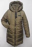 Мода 2019/2020 Яркая  удлиненная зимняя  куртка-пальто на девочку.  Очень теплая!!! Подросток